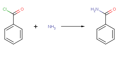 Synthesis of benzamide via Amide Formation from an Acid Chloride